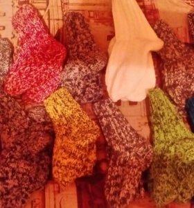 Носки вязанные детские