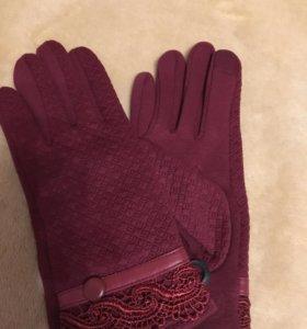 Перчатки сенсорные. Новые