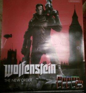 Постер wolfenstein new order