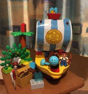 Конструктор Лего дупло,набор 10514 + подарок