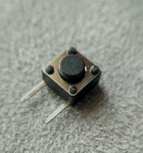 Кнопки для проектов 6х6х4.3мм 10 штук