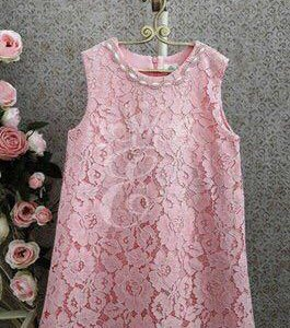 Платье кружевное на хлопковой подкладке