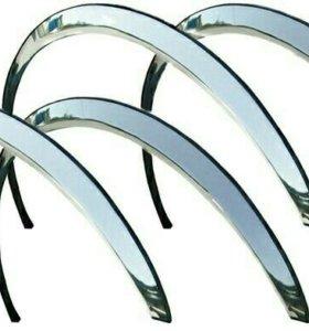 Накладки-расширители колесных арок Гольф