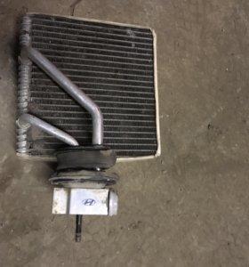 Хендай акцент радиатор кондиционера