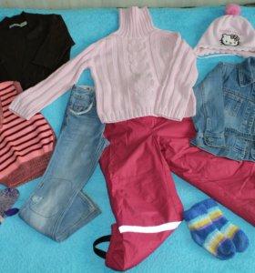 Пакет вещей № 1 (для девочки 3 - 6 лет)