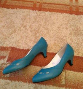 Туфли кожаные р-р 36, 37