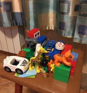 Конструктор Лего Дупло Зоопарк , набор 6136