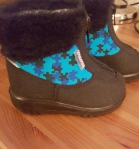 Зимние ботиночки kuoma