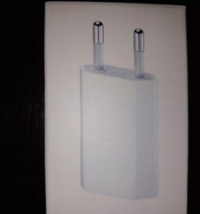 Зарядное устройство apple iPhone 2 в 1 оригинал