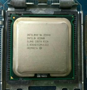 Intel Xeon E5440 2.83GHz 12Mb 1333MHz 4 ядра