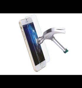 Защитные стекла на iPhone 4 5 6 7 8