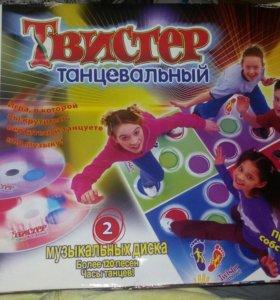 Танцевальный твистер. игра