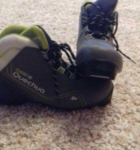 Лыжные беговые ботинки р 38