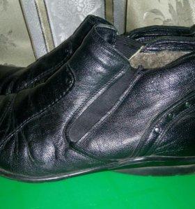 Туфли мужские зима р.43
