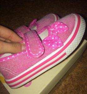 туфли детские,тряпочные