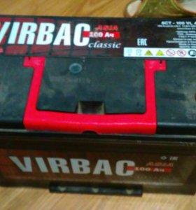 Аккумулятор virbac 115d31 100Ah