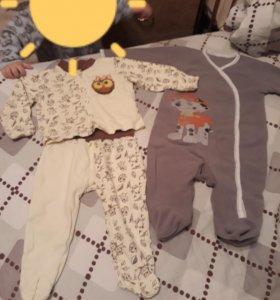Комбинезон и пижамка
