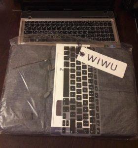 Новая сумка для ноутбука + подарок