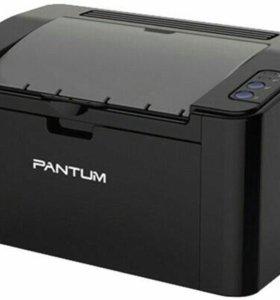 Принтер лазерный чёрно- белая печать Pantum p2207