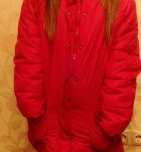 Куртка зимняя теплая детская
