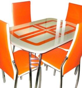 Стол кухонный+4 стула