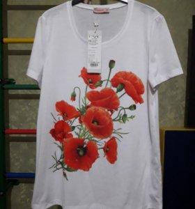 Блузка футболка 46 размер