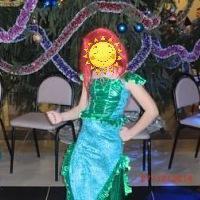 Новогодний костюм русалки
