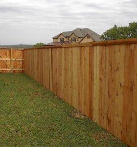 Забор из штакетника зазор 5 см h= 1,7 м ДШ 004 НО