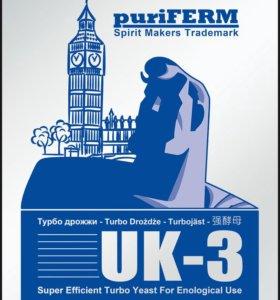 Спиртовые дрожжи Турбо-дрожжи UK-3