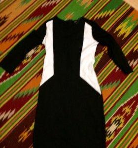 Платье Манго плотное с подкладом