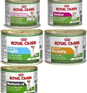 Консервы Royal Canin для собак (упаковка)