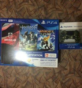 Игровая консоль PlayStation 4 Slim+3 игры