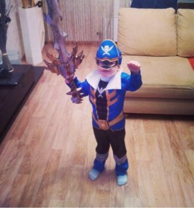 Новогодний костюм «Рейнджер» 3-4 года