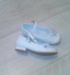 Туфли для девочки, р. 25
