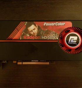 Видеокарта Radeon HD 5850-1Gb