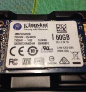 SSD жёсткий диск 60G