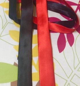 Новые атласные галстуки