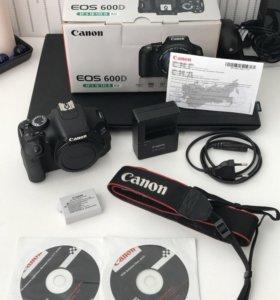 Canon 600D + canon 18-135 f/3.5-5.6
