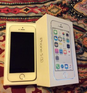 Apple Iphone 5s 16gb Silver White Айфон Белый