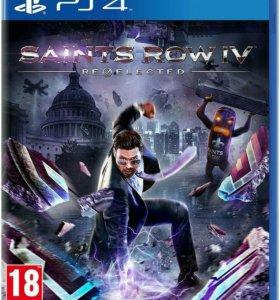 PS4 Saints Row IV: Re-Elected новый
