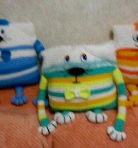 Подушки игрушки
