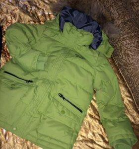 Зимние штаны и куртка на мальчика