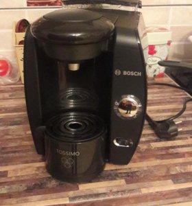Капсульная кофеварка Bosch как новая