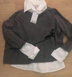 Свитер Zara и новая рубашка oogji