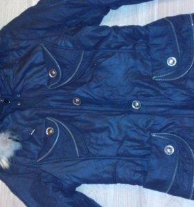 Зимняя куртка на синтепоне 42-46