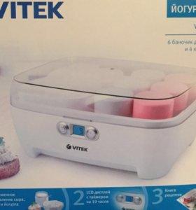 Новая йогуртница Vitek для здорового питания!