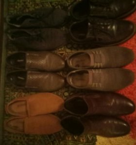 Мужские ботинки 43