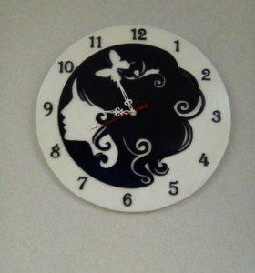 Часы настенные, ручная работа