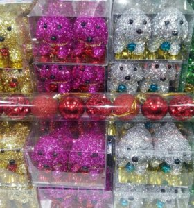 Новогоднее украшение на ёлку