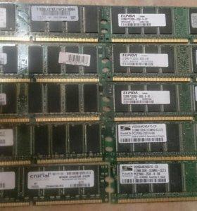 Оперативка DDR1 512 мб